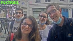 Equipe Foxtrail jeu de piste en famille à Paris