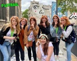 Equipe Foxtrail EVJF jeu de piste à Paris