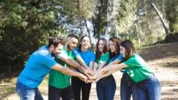 Equipe Foxtrail team-building teamwork