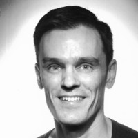 Black and White Head shot of Matthew Selwyn