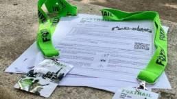 Foxtrail Documents in the Jardins de Tuileries