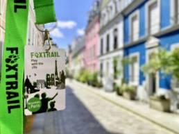 Badge foxtrail et rue cremieux