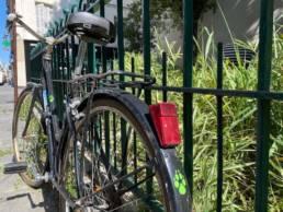 Vélo et sticker Foxtrail Saint Germain