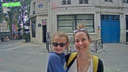 Equipe Foxtrail jeu de piste à Paris en famille