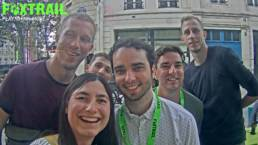 Equipe Foxtrail jeu de piste à Paris EVG